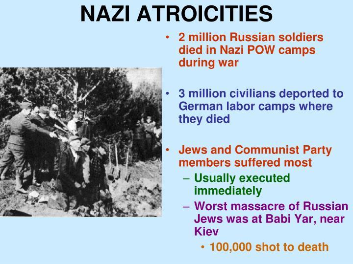 NAZI ATROICITIES