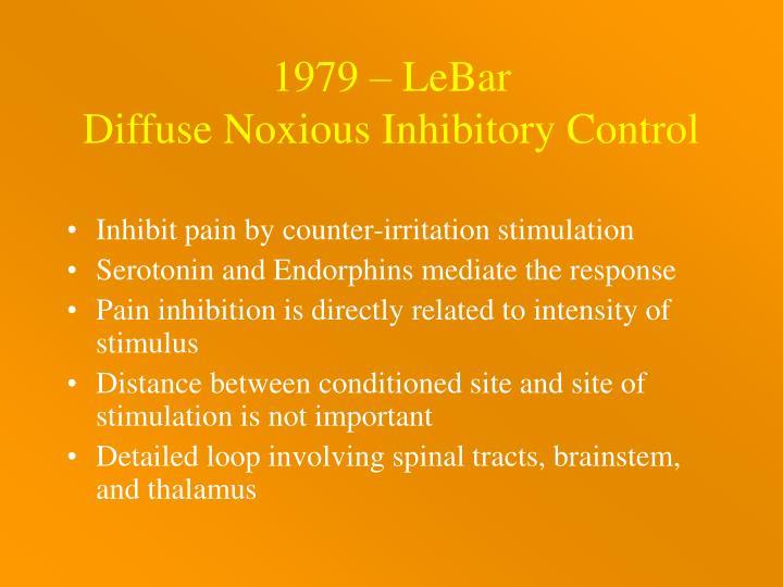 1979 – LeBar