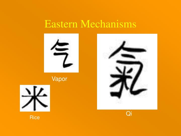 Eastern Mechanisms