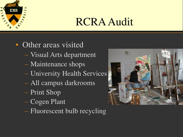 RCRA Audit