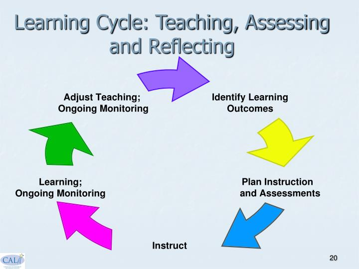 Learning Cycle: Teaching, Assessing and Reflecting