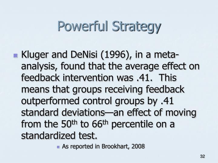 Powerful Strategy