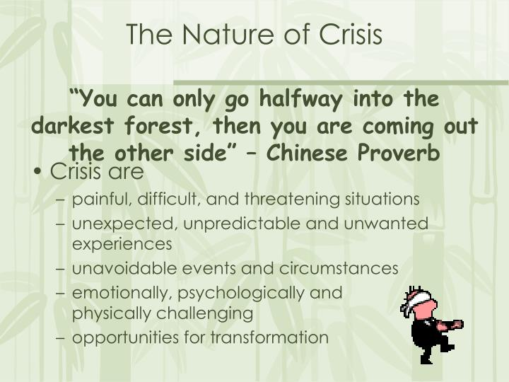 The Nature of Crisis