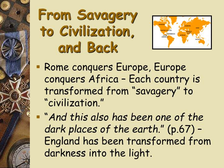 From savagery to civilization and back