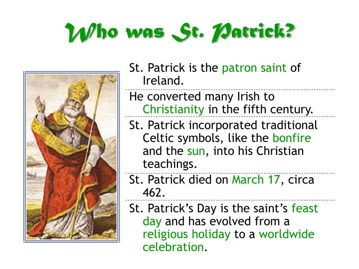 Who was st patrick