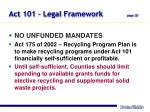 act 101 legal framework page 20
