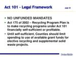 act 101 legal framework page 22
