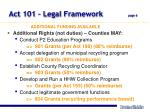 act 101 legal framework page 6