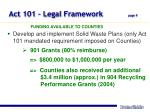 act 101 legal framework page 9