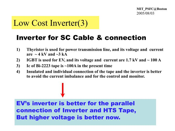 Low Cost Inverter(3)