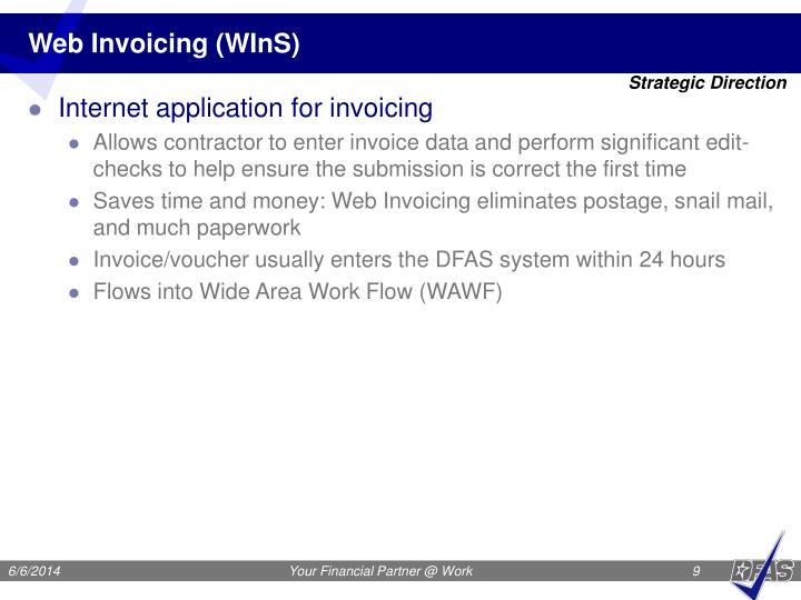Web Invoicing (WInS)