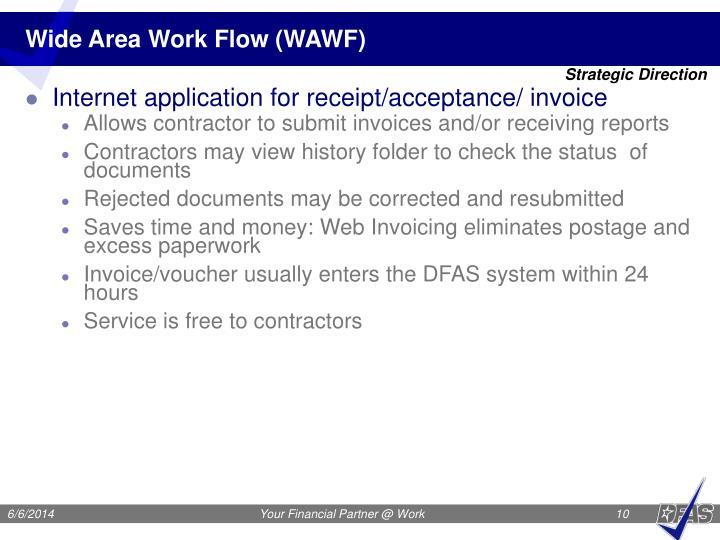 Wide Area Work Flow (WAWF)
