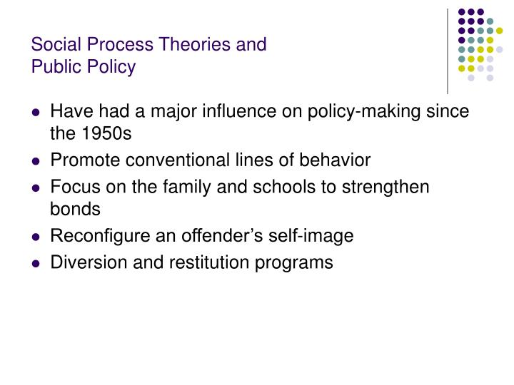 Social Process Theories and