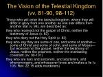 the vision of the telestial kingdom vv 81 90 98 112