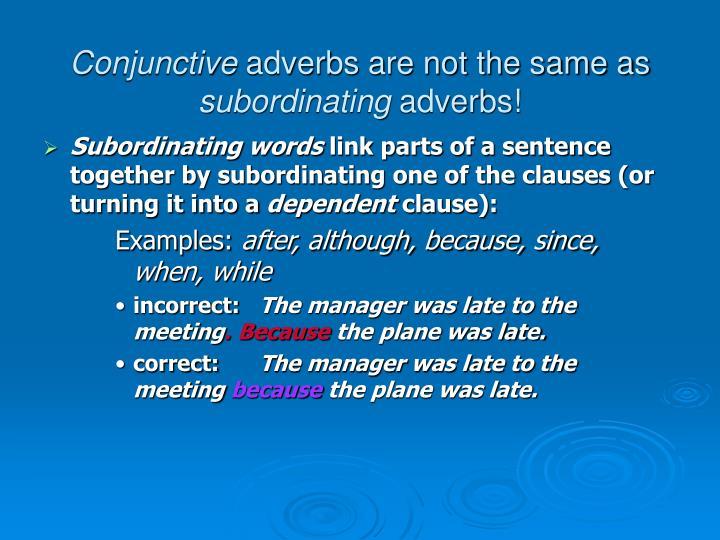 Conjunctive
