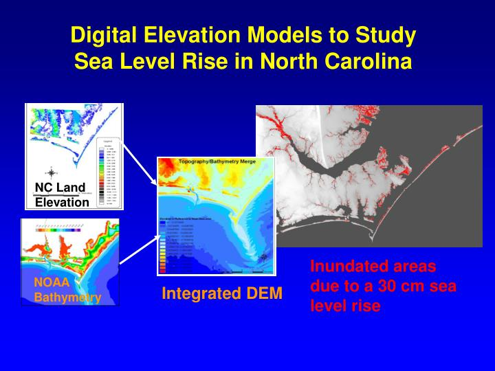 Digital Elevation Models to Study