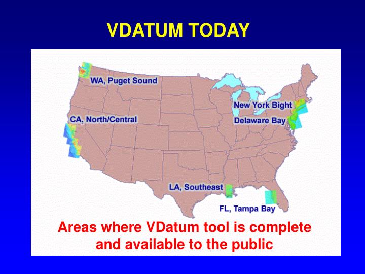 VDATUM TODAY