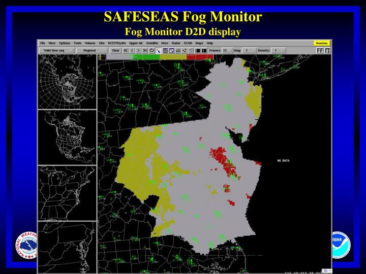 SAFESEAS Fog Monitor