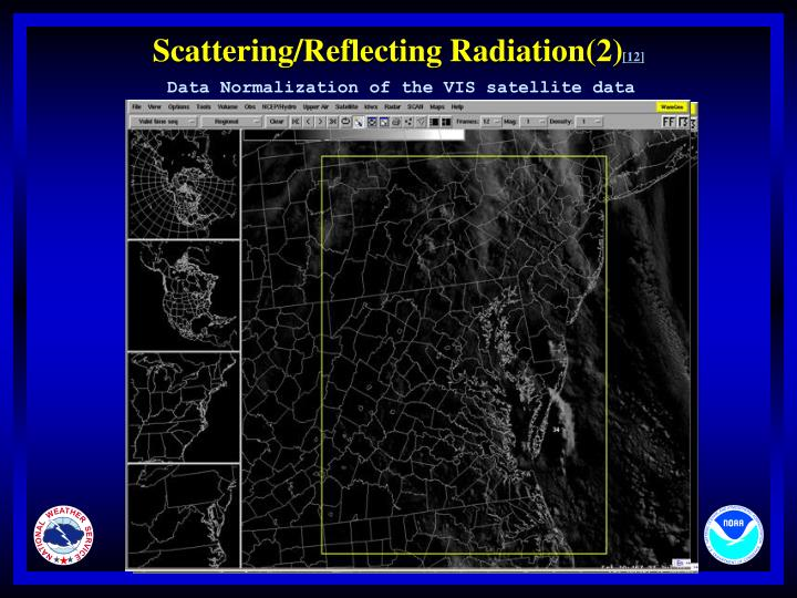 Scattering/Reflecting Radiation(2)