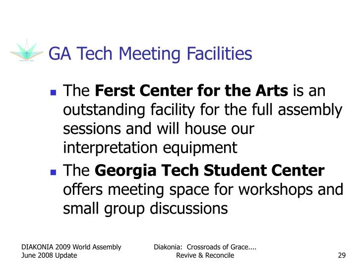 GA Tech Meeting Facilities