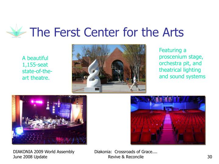 The Ferst Center for the Arts