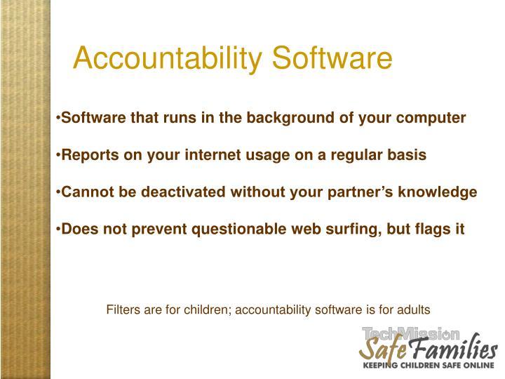 Accountability Software