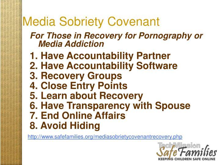 Media Sobriety Covenant