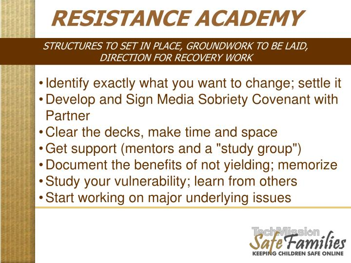 RESISTANCE ACADEMY