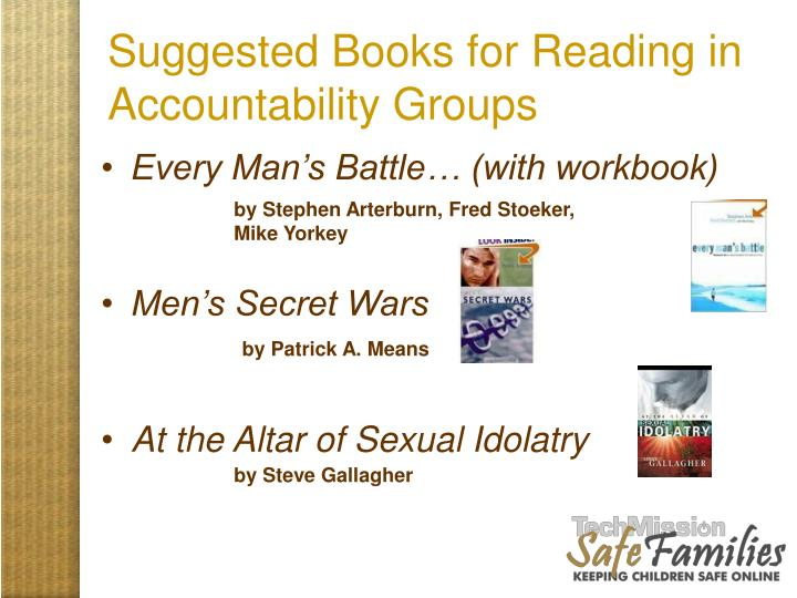 Suggested Books for Reading in Accountability Groups