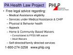 pa health law project