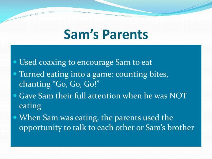 Sam's Parents