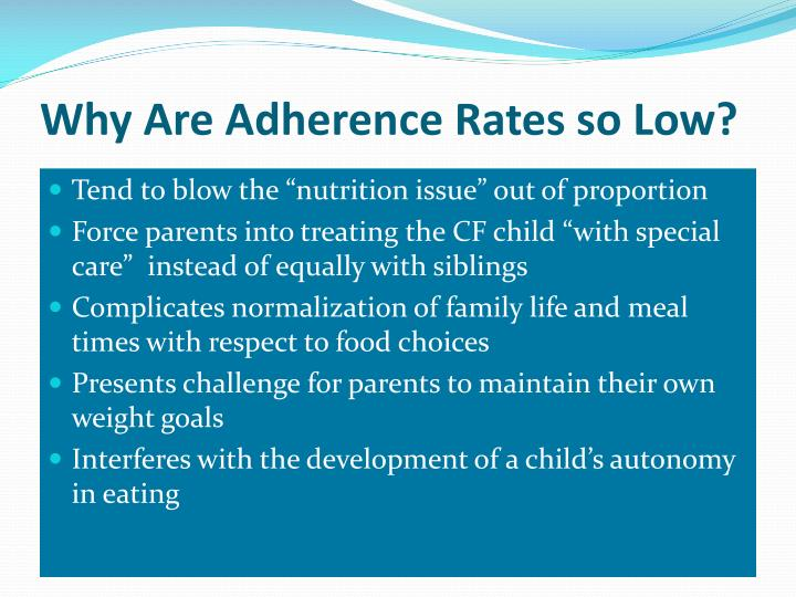 Why Are Adherence Rates so Low?