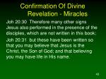 confirmation of divine revelation miracles4