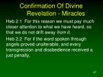 confirmation of divine revelation miracles8