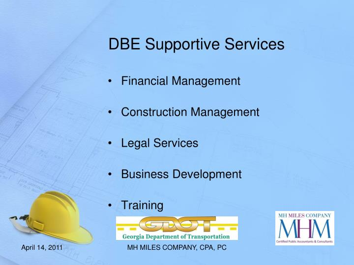 DBE Supportive Services