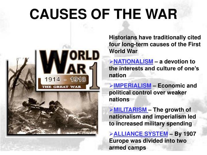 World war one essays