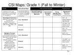 csi maps grade 1 fall to winter
