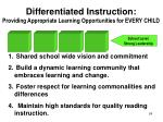 differentiated instruction providing appropriate learning opportunities for every child1