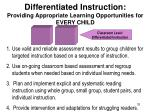 differentiated instruction providing appropriate learning opportunities for every child3