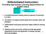 differentiated instruction providing appropriate learning opportunities for every child4