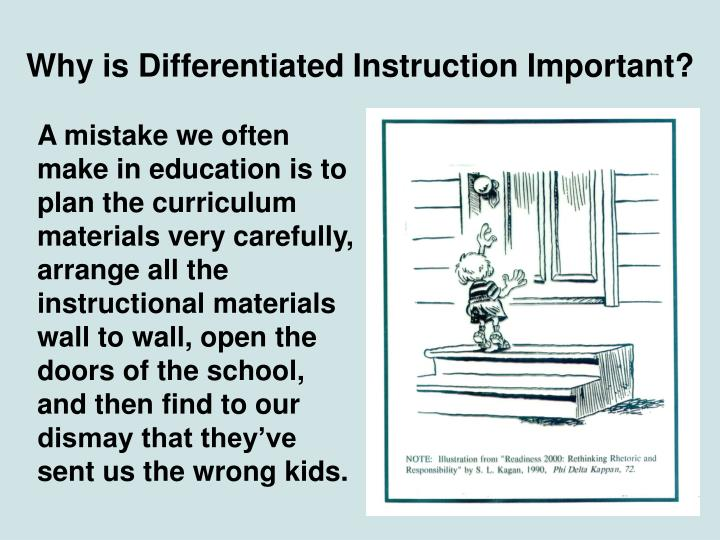 Why is Differentiated Instruction Important?