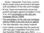 doyle v resolution trust corp cont d