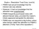 doyle v resolution trust corp cont d3