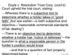 doyle v resolution trust corp cont d5
