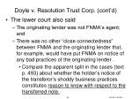 doyle v resolution trust corp cont d6