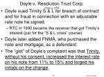 doyle v resolution trust corp text p 479