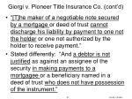 giorgi v pioneer title insurance co cont d4
