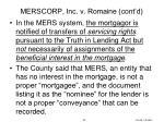 merscorp inc v romaine cont d1