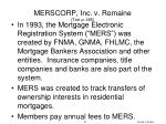 merscorp inc v romaine text p 485