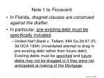 note 1 to fioravanti